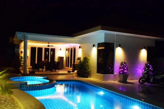 Baan Yu Yen - Pool Villas For Sale between Hua Hin and Pranburi (1)