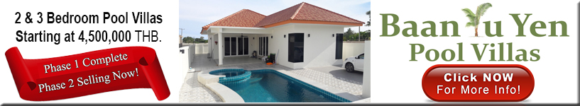 Hua Hin, Pranburi, pool, villas, for, sale