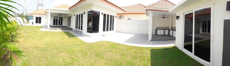 Baan Yu Yen pool villas for sale between Hua Hin and Pranburi Thailand