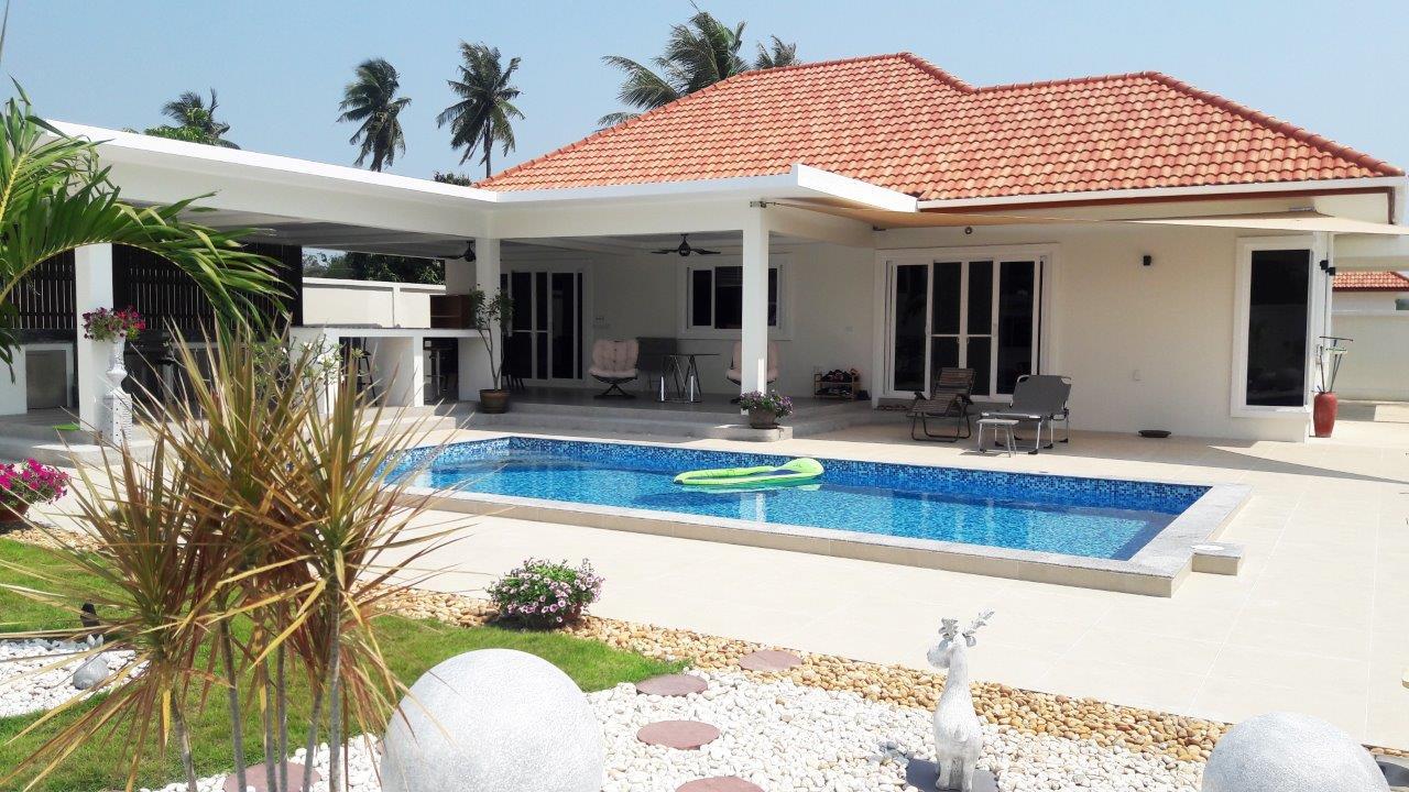 Baan Yu Yen Pool Villas - Pool Villas for sale between Hua Hin and Pranburi (1)