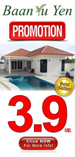 Hua Hin Pranburi pool villas for sale promotion discount